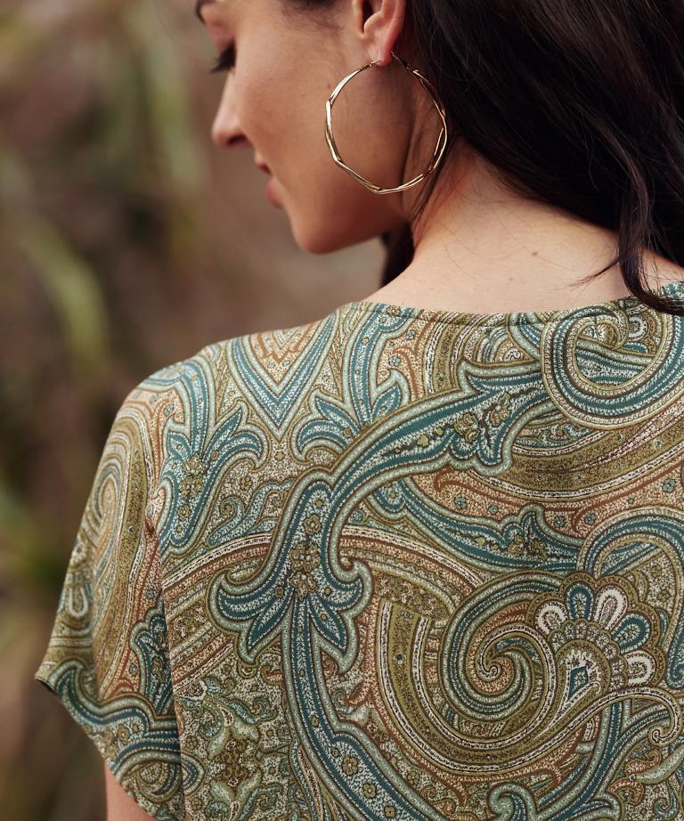 wzorzysta bluzka Sempre